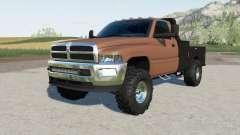 Dodge Ram 3500 Regular Cab flatbed para Farming Simulator 2017