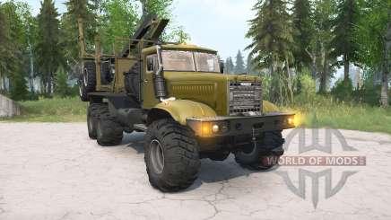 KrAZ-255Л para MudRunner