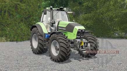 Deutz-Fahr 6160 TTV Agrotron para Farming Simulator 2017