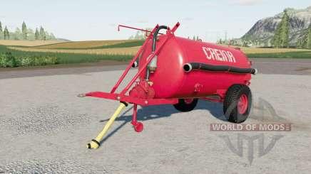 Creina CV 3Ձ00 para Farming Simulator 2017