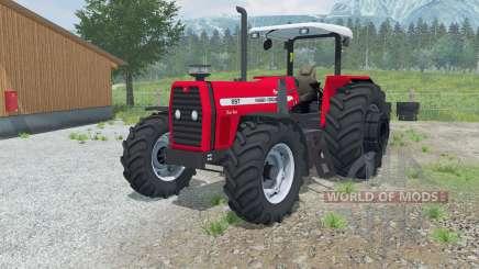 Massey Ferguson 297 Advanced para Farming Simulator 2013