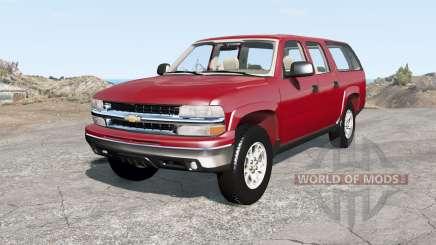 Chevrolet Suburban Z71 (GMT800) para BeamNG Drive