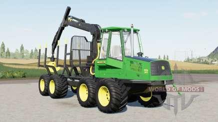 John Deere 1110D Eco III para Farming Simulator 2017