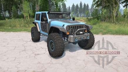 Jeep Wrangler (JK) 2017 Trailcat para MudRunner