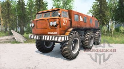 ZIL-Э167 196ろ para MudRunner