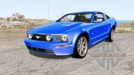 Ford Mustang GT 2005 para BeamNG Drive
