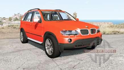 BMW X5 (E53) 2002 para BeamNG Drive
