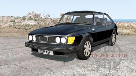 Saab 99 Turbo combi coupe de 1978 para BeamNG Drive