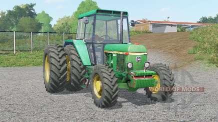 John Deere 30ვ0 para Farming Simulator 2017