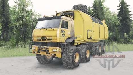 KamAZ-6560 Polar v1.1 para Spin Tires
