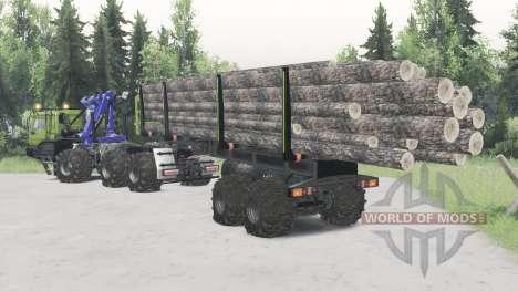 KamAZ-6345 Ártico para Spin Tires