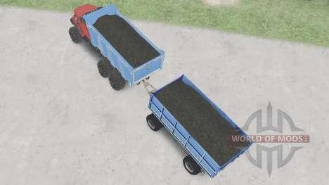 De los urales-4320-6951-74 para Spin Tires