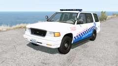 Gavril Roamer Chicago Police v1.31 para BeamNG Drive
