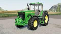 John Deere 8000-serieꜱ para Farming Simulator 2017