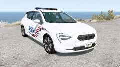 Cherrier FCV Belasco City Police v1.2.2 para BeamNG Drive