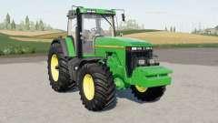 John Deere 8000-serieȿ para Farming Simulator 2017