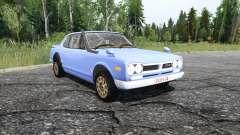 Nissan Skyline 2000GT-R Coupe (KPGC10) 1970 para MudRunner