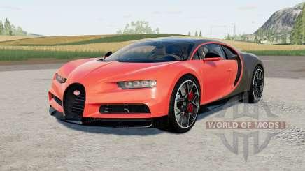 Bugatti Chiron Sporᵵ para Farming Simulator 2017