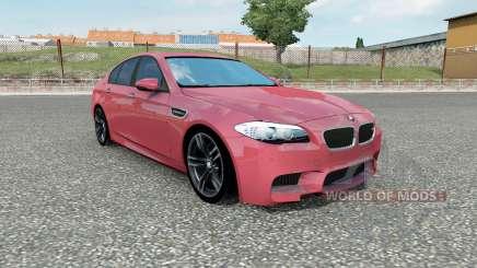 El BMW M5 (F10) 201Ձ para Euro Truck Simulator 2