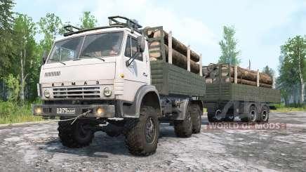 KamAZ-4ვ10 para MudRunner
