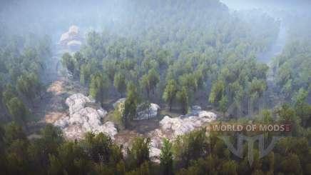 Logging Road v2.0 para MudRunner