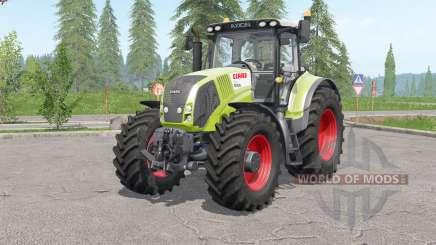 Claas Axioᶇ 800 para Farming Simulator 2017
