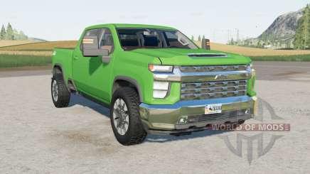 Chevrolet Silverado 2500 HD Crew Cab 2020 para Farming Simulator 2017