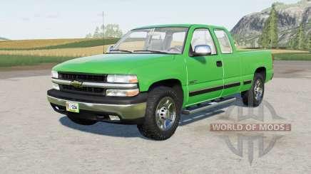 Chevrolet Silverado 1500 Extended Cab 1999 para Farming Simulator 2017