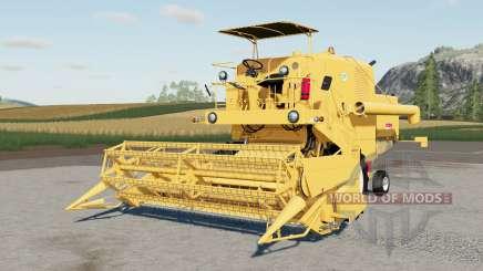 Bizon Supeᵲ Z056 para Farming Simulator 2017