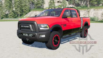 Ram 2500 Power Wagon Crew Cab 2017 para Farming Simulator 2017