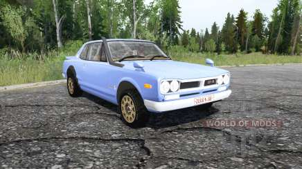 Nissan Skyline 2000GT-R Coupe (KPGC10) 1970 para MudRunner