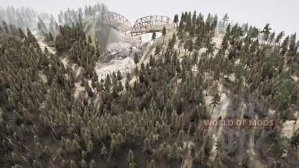 La serpiente de la carretera 10 para MudRunner