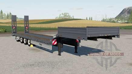 Fliegl Tieflader para Farming Simulator 2017
