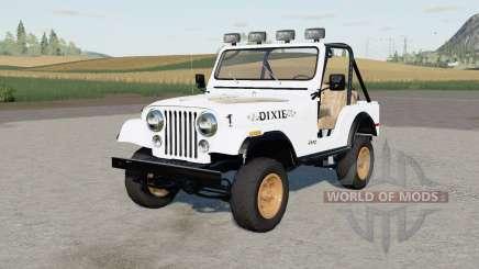 Jeep CJ-5 Renegade Daisys para Farming Simulator 2017