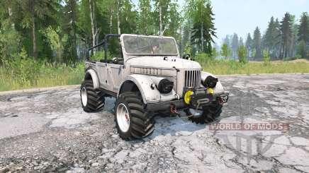 GAZ-69 para MudRunner