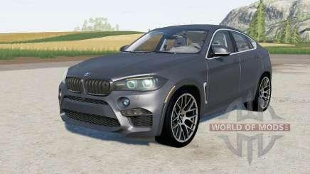 BMW X6 M (F86) 2015 para Farming Simulator 2017