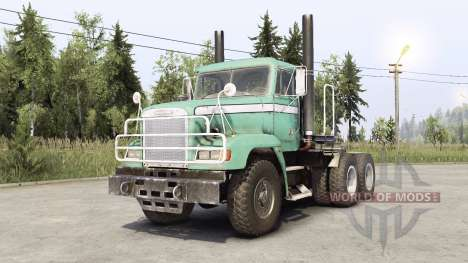 Freightliner M916A1 para Spin Tires