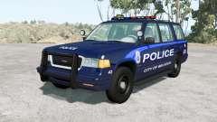 Gavril Roamer Belasco Police v1.2 para BeamNG Drive