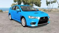 Mitsubishi Lancer Evolution X GSR (CZ4A) para BeamNG Drive