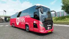 Scania K410 Touring HD para Euro Truck Simulator 2