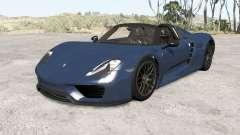 Porsche 918 Spyder 2014 v1.1 para BeamNG Drive