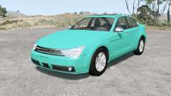 Ford Focus sedan (NA2) 2008 v1.01 para BeamNG Drive