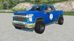 Chevrolet Silverado 2500 HD Crew Cab SpencerTV para Farming Simulator 2017