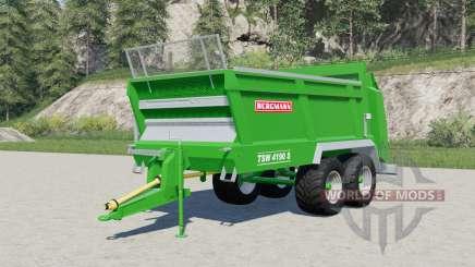 Bergmann TSW 4190 Ꞩ para Farming Simulator 2017