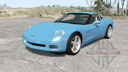 Chevrolet Corvette coupe (C6) 2006 para BeamNG Drive