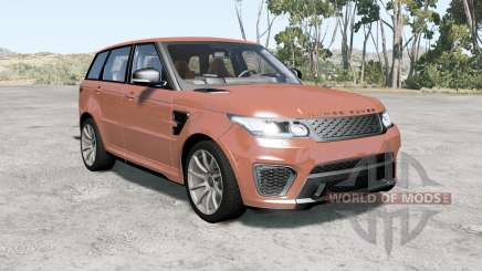 Range Rover Sport SVR 2015 para BeamNG Drive