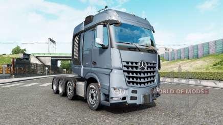 Mercedes-Benz Arocs 4163 SLT 2014 v1.6.3 para Euro Truck Simulator 2