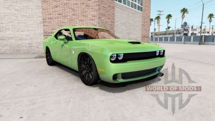 Dodge Challenger SRT Hellcat (LC) 2018 v1.2 para American Truck Simulator