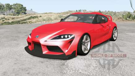 Toyota GR Supra Heritage Edition (A90) 2019 para BeamNG Drive