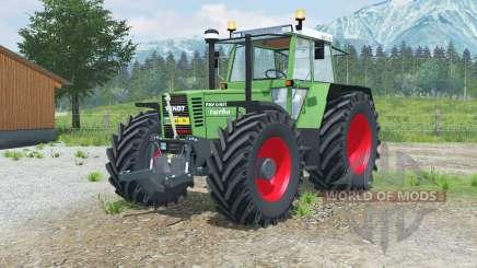 Fendt Favorit 615 LSA Turbomatiᶄ para Farming Simulator 2013